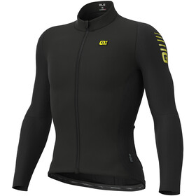 Alé Cycling Clima Protection 2.0 Warm Race Maillot À Manches Longues Homme, black
